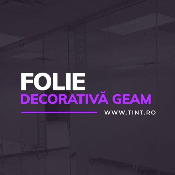 FOLIE DECORATIVA GEAM
