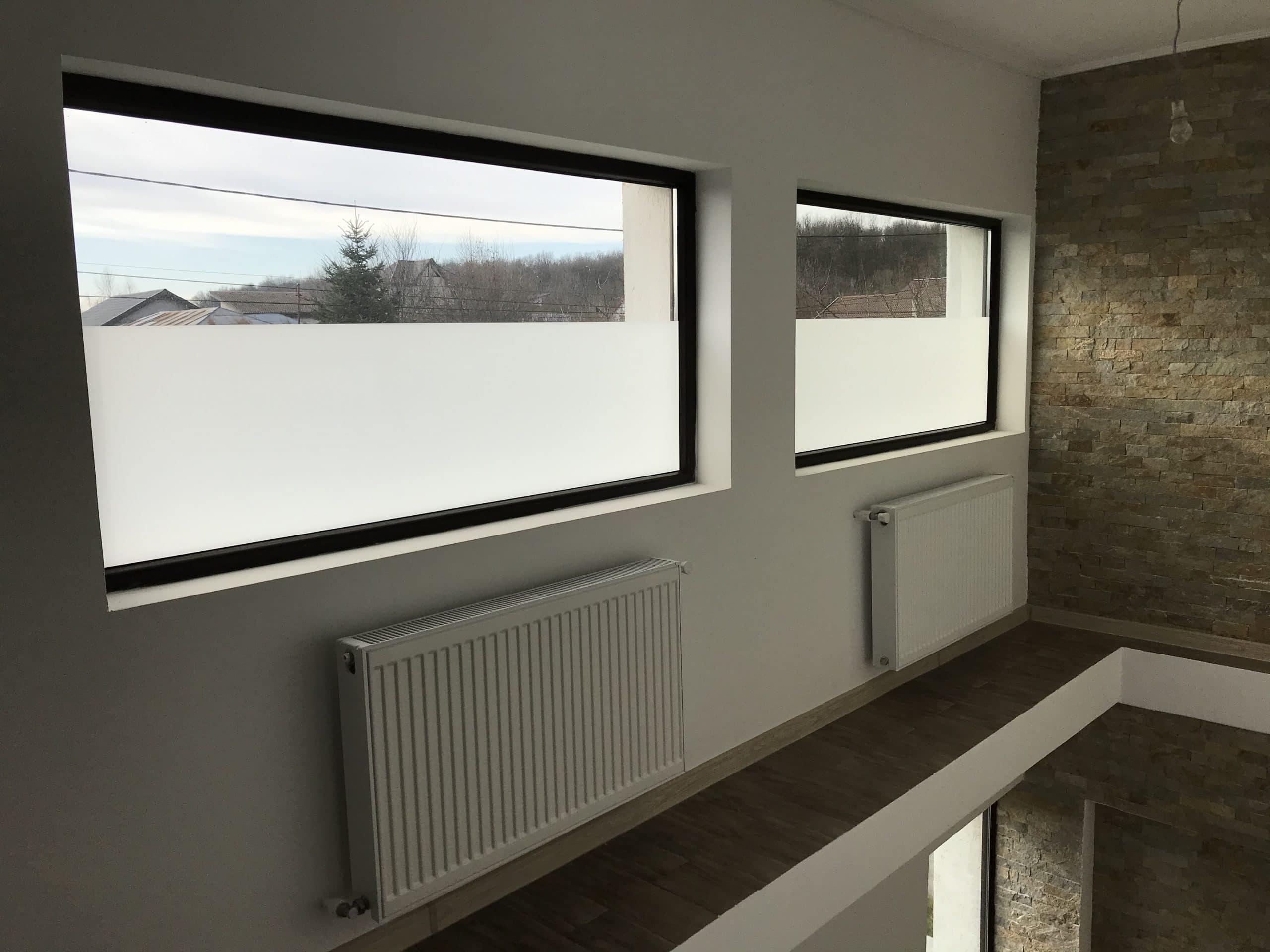 Folie geam sablat mat frost