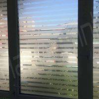 Folie decorativa geam dungi 3,5cm Structurata