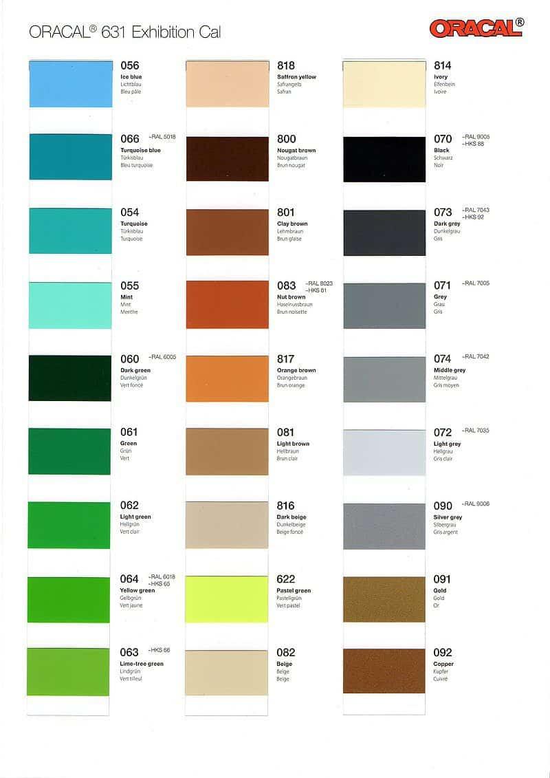 ORACAL 631 Color